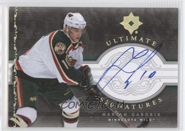 2006-07 Ultimate Collection - Ultimate Signatures #US-MG - Marian Gaborik