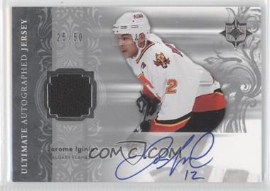 2006-07 Ultimate Collection [???] #AJ-JI - Jarome Iginla /50
