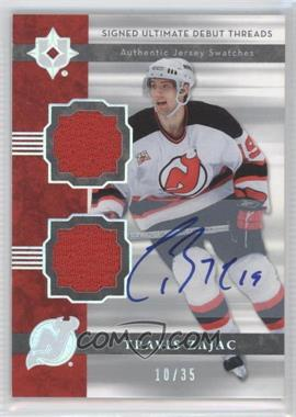 2006-07 Ultimate Collection [???] #DJ-TZ - Travis Zajac /35