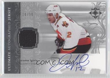 2006-07 Ultimate Collection Autographed Jerseys #AJ-JI - Jarome Iginla /50