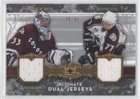 Patrick Roy, Ray Bourque /50