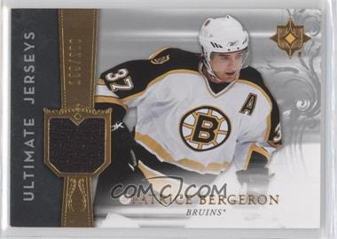 2006-07 Ultimate Collection Ultimate Jerseys #UJ-PB - Patrice Bergeron /200
