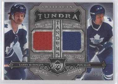 2006-07 Upper Deck Artifacts Tundra Tandems Silver #TT-ME - Ron Ellis, Lanny McDonald /25