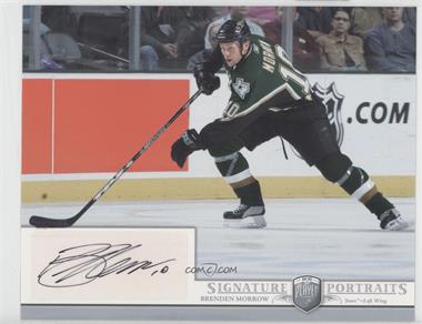 2006-07 Upper Deck Be A Player Portraits - Signature Portraits #SP-MW - Brenden Morrow