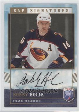 2006-07 Upper Deck Be a Player Signatures [Autographed] #BH - Bobby Holik