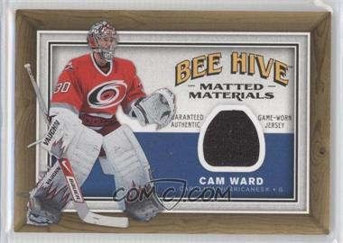 2006-07 Upper Deck Bee Hive - Matted Materials #MM-CW - Cam Ward