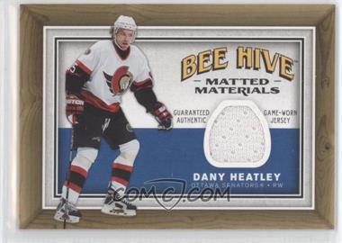 2006-07 Upper Deck Bee Hive - Matted Materials #MM-DH - Dany Heatley