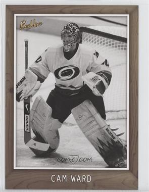 2006-07 Upper Deck Bee Hive 5x7 Black & White Variation #83 - Cam Ward