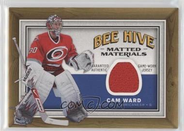 2006-07 Upper Deck Bee Hive Matted Materials #MM-CW - Cam Ward