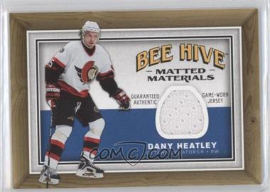 2006-07 Upper Deck Bee Hive Matted Materials #MM-DH - Dany Heatley