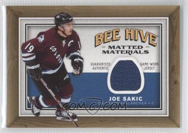 2006-07 Upper Deck Bee Hive Matted Materials #MM-JS - Joe Sakic