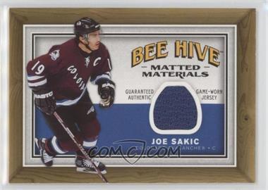 2006-07 Upper Deck Bee Hive Matted Materials #MM-JS - Joe Sakic