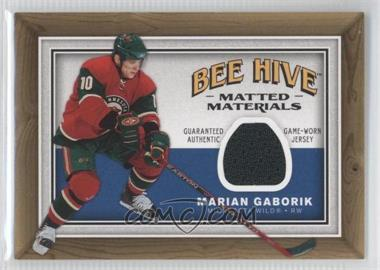 2006-07 Upper Deck Bee Hive Matted Materials #MM-MG - Marian Gaborik