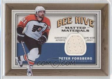 2006-07 Upper Deck Bee Hive Matted Materials #MM-PF - Peter Forsberg