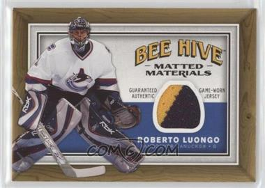 2006-07 Upper Deck Bee Hive Matted Materials #MM-RL - Roberto Luongo