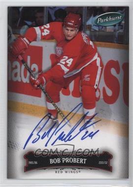 2006-07 Upper Deck Parkhurst Autographs [Autographed] #101 - Bob Probert