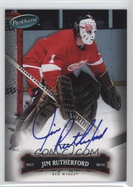 2006-07 Upper Deck Parkhurst Autographs [Autographed] #108 - Jim Rutherford