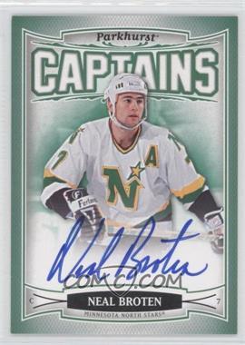 2006-07 Upper Deck Parkhurst Autographs [Autographed] #225 - Neal Broten