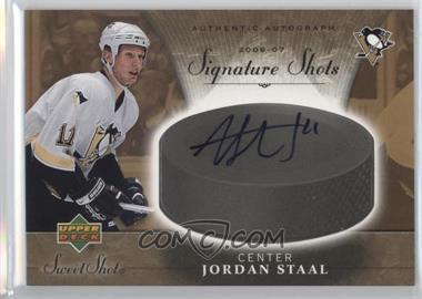 2006-07 Upper Deck Sweet Shot - Signature Shots - [Autographed] #SS-ST - Jordan Staal