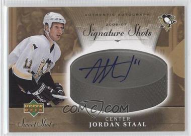 2006-07 Upper Deck Sweet Shot Signature Shots [Autographed] #SS-ST - Jordan Staal