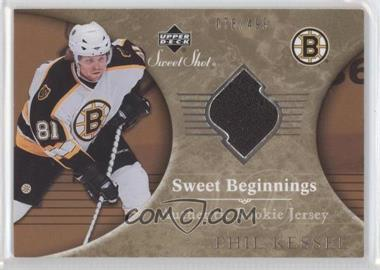 2006-07 Upper Deck Sweet Shot #104 - Phil Kessel /499