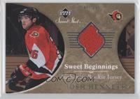 Sweet Beginnings Rookie Jersey - Josh Hennessy /499