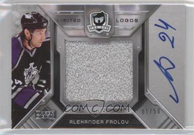 2006-07 Upper Deck The Cup Limited Logos Autographs #LL-AF - Alex Frolov /50