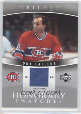 2006-07 Upper Deck Trilogy - Honorary Swatches #HS-GL - Guy Lafleur