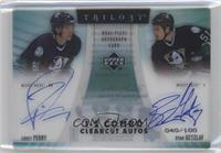 Corey Perry, Ryan Getzlaf /100