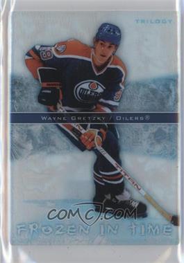 2006-07 Upper Deck Trilogy Frozen in Time #FT20 - Wayne Gretzky /999