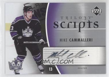 2006-07 Upper Deck Trilogy Scripts #TS-MC - Mike Cammalleri