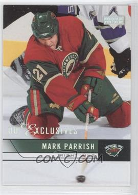 2006-07 Upper Deck UD Exclusives #350 - Mark Parrish /100