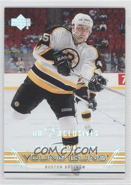 2006-07 Upper Deck UD Exclusives #455 - Nate Thompson /100