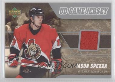 2006-07 Upper Deck UD Game Jersey #J-JS - Jason Spezza