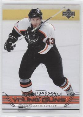 2006-07 Upper Deck #482 - Lars Jonsson
