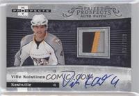 Autographed Prospect Patches - Ville Koistinen /399