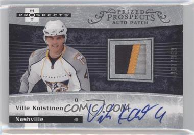 2007-08 Fleer Hot Prospects - [Base] #231 - Autographed Prospect Patches - Ville Koistinen /399
