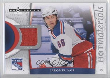2007-08 Fleer Hot Prospects - Hot Materials #HM-JA - Jaromir Jagr