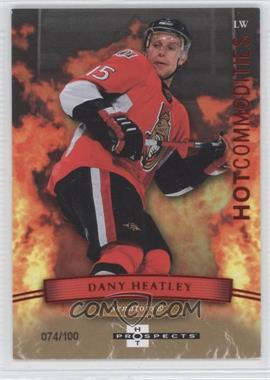 2007-08 Fleer Hot Prospects [???] #109 - Dany Heatley /100