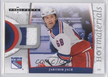 2007-08 Fleer Hot Prospects Hot Materials #HM-JA - Jaromir Jagr
