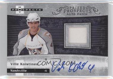 2007-08 Fleer Hot Prospects #231 - Ville Koistinen /399