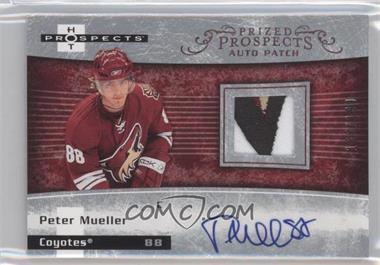 2007-08 Fleer Hot Prospects #251 - Autographed Prospect Patches SP - Peter Mueller /199