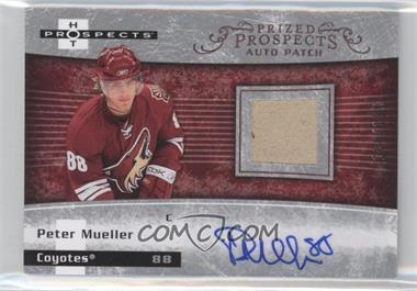 2007-08 Fleer Hot Prospects #251 - Autographed Prospect Patches SP - Peter Mueller /199