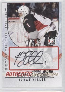 2007-08 In the Game Between the Pipes GoalieGraphs #A-JHI - Jonas Hiller
