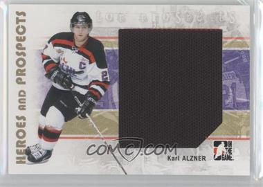 2007-08 In the Game Heroes and Prospects - [Base] #123 - Karl Alzner