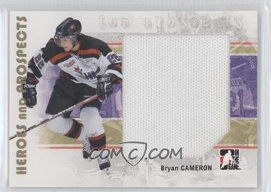 2007-08 In the Game Heroes and Prospects - [Base] #131 - Bryan Cameron