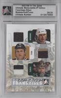 Mike Modano, Brett Hull, Marty Turco