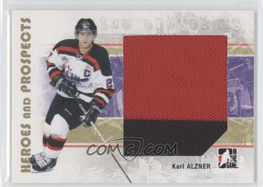 2007-08 In the Game Heroes and Prospects #123 - Karl Alzner