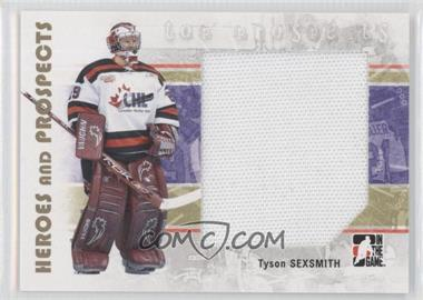 2007-08 In the Game Heroes and Prospects #128 - Tyson Sexsmith