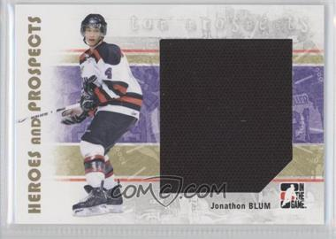 2007-08 In the Game Heroes and Prospects #130 - [Missing]